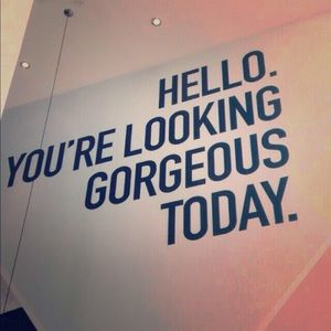 You look gorgeous everyday!! ✨